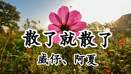 San Le Jiu San Le 散了就散了 Lyrics 歌詞 With Pinyin By Wei Zi 威仔 A Xia 阿夏