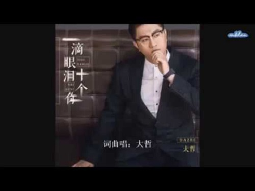 Yi Di Yan Lei Shi Ge Ni 一滴眼泪十个你 Lyrics 歌詞 With Pinyin By Da Zhe 大哲
