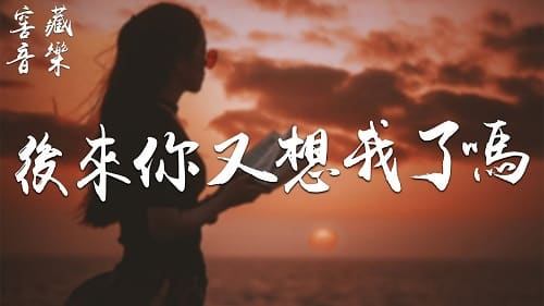 Hou Lai Ni You Xiang Wo Le Ma 后来你又想我了吗 Did You Miss Me Again Lyrics 歌詞 With Pinyin By Zhang Dong Ling 张冬玲
